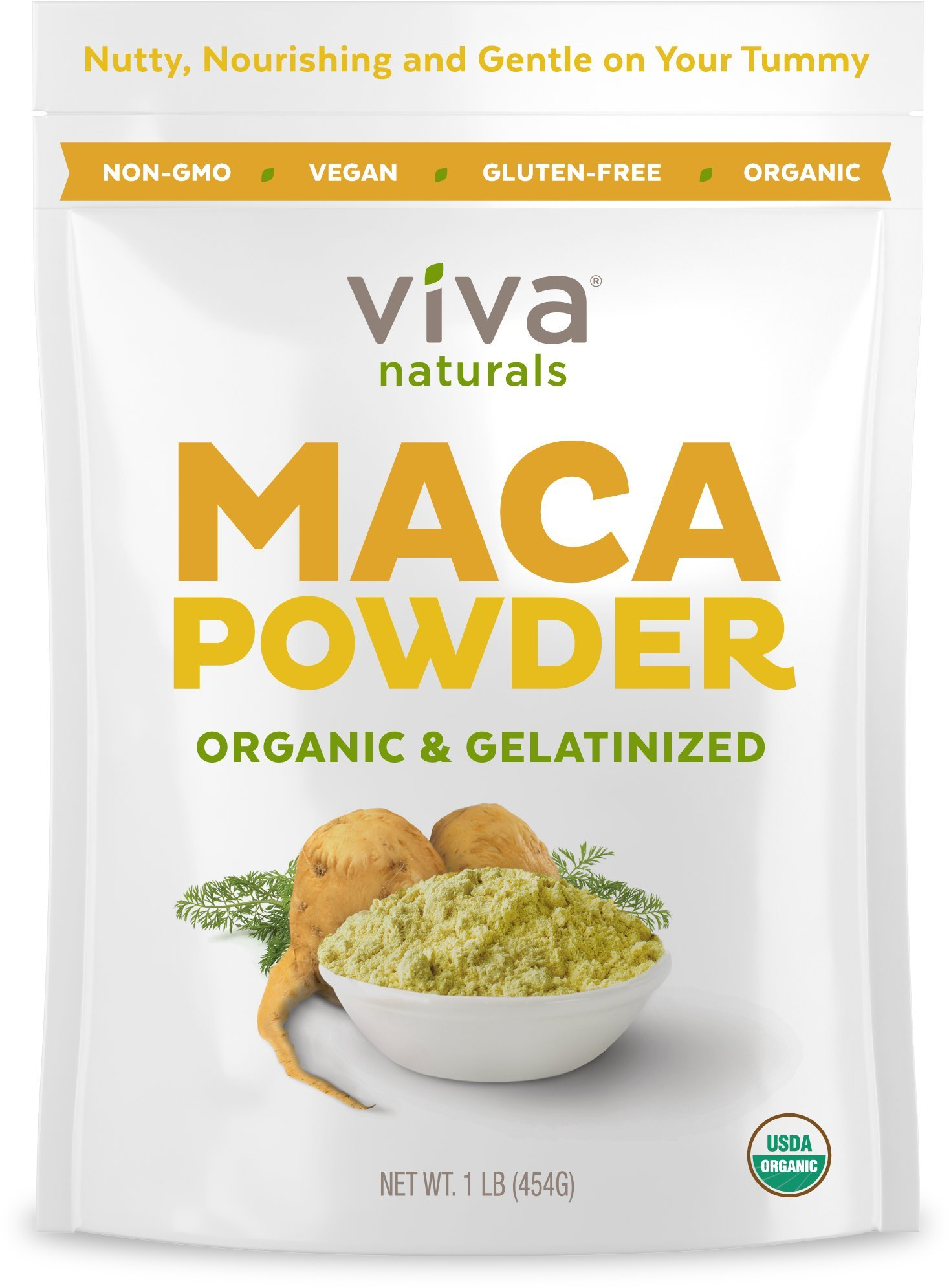 Viva Naturals Cacao Powder 2 Lb From Superior Mulberry Body Butter Organic Maca Gelatinized For Enhanced Bioavailability Non Gmo 1lb