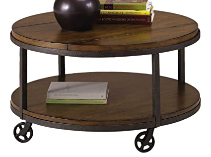 Charmant Hammary Baja Round Cocktail Table