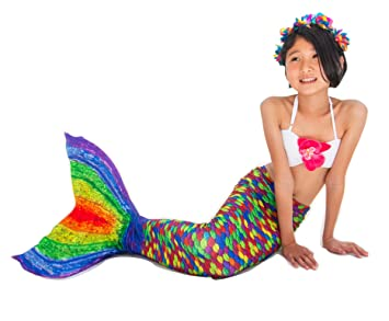 Abyss Mermaid Tails Of Siren For Swimming Costume Arco Iris Size 6