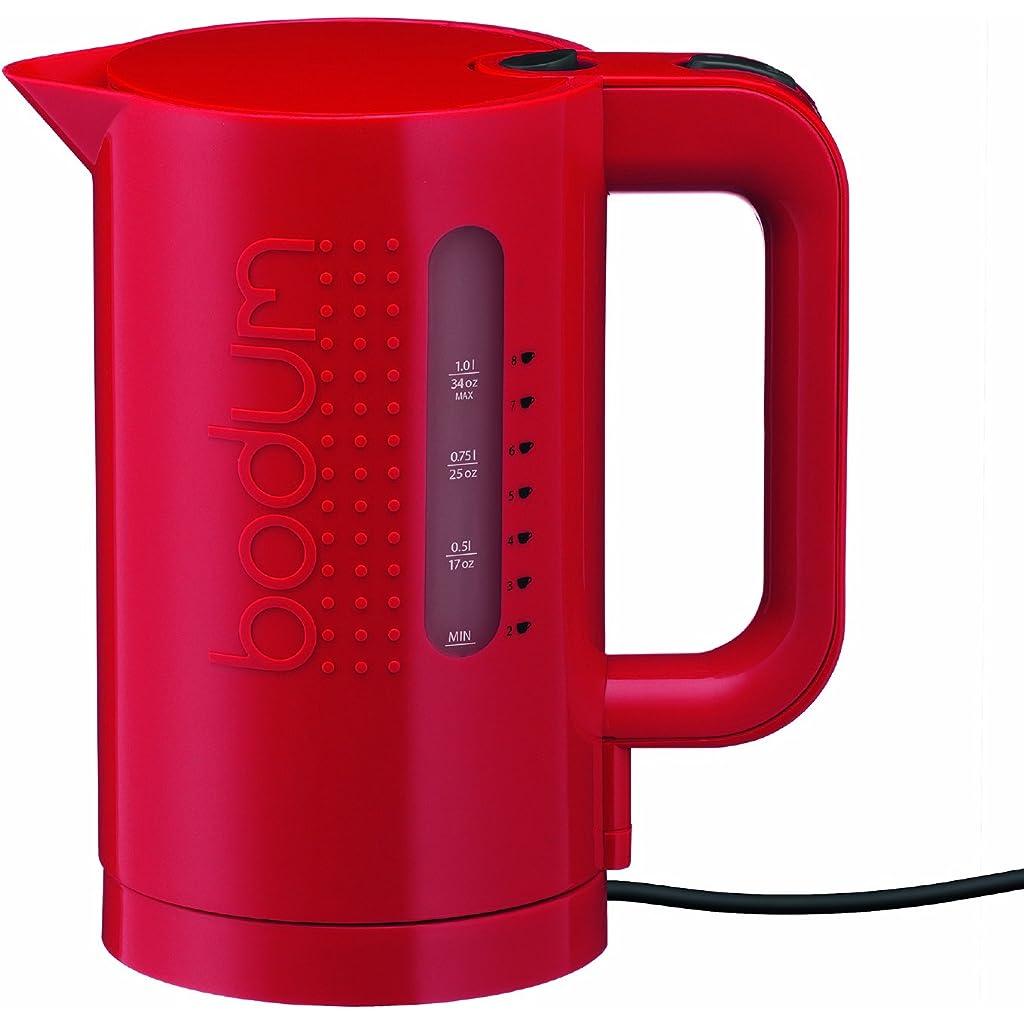 Bodum Bistro 1L Electric Kettle - Red