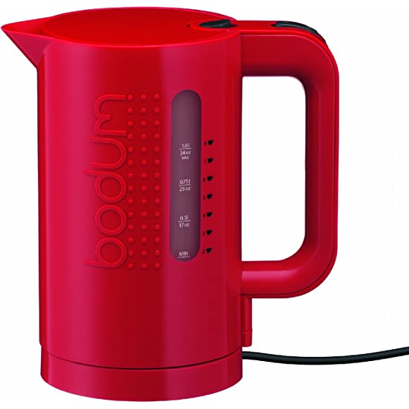 Bodum Bistro 1L Electric Kettle - Red