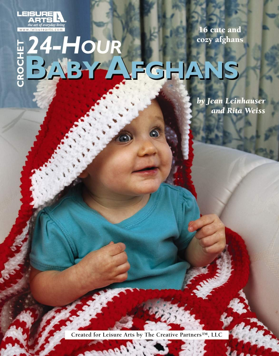 Shower of Cables Baby Afghans Crochet Pattern Booklet Leisure Arts