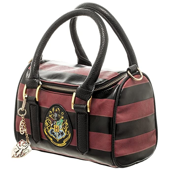 Amazon.com: Harry Potter Hogwart's Crest Mini Satchel Handbag with ...