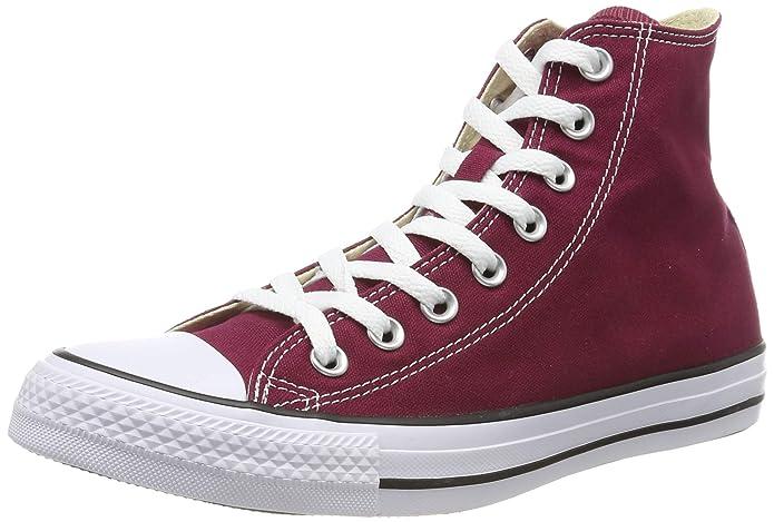 Converse Chuck Taylor All Star High Top Sneakers Damen Herren Unisex Weinrot
