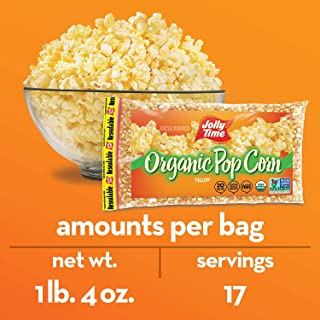 product image for Jolly Time Yellow Pop Corn 1lb 4 oz/20oz Non GMO Verified (2)