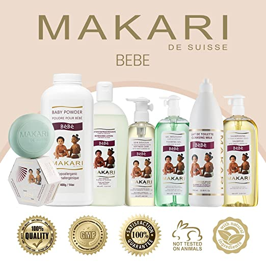 Amazon.com  Makari Baby Soap 5.4oz – Soothing ee3d307d9ab