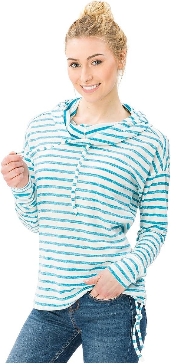 Super.Natural Damen Vacation Funnel Hooded T-Shirt Merinoshirt NEU