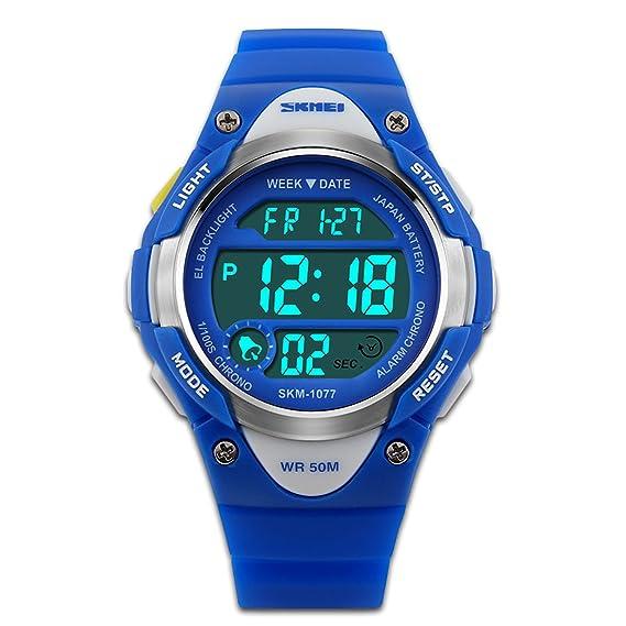 a3b079c2d7e4 Reloj deportivo digital para niños