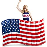 BigMouth Inc Giant Waving American Flag Pool Float