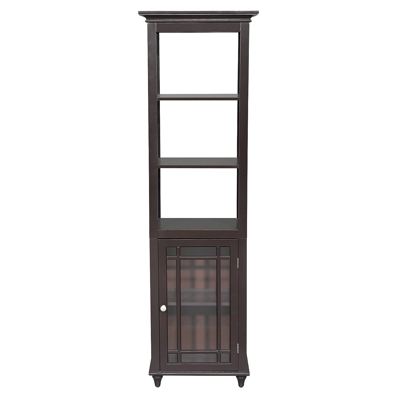 Amazon.com: Elegant Home Fashion Neal Linen Tower Cabinet: Kitchen ...
