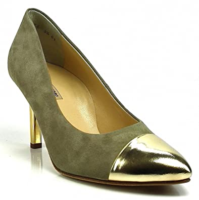 1410c09a59007a Paul Green Pumps spitz gold Oro Taupe