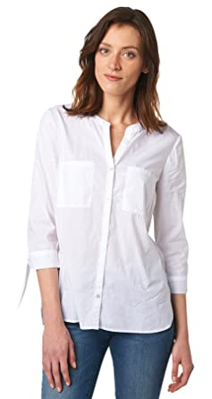 4f5e6503b4f97 TOM TAILOR Damen Modern Bluse Hersteller Gr.40: Amazon.de: Bekleidung