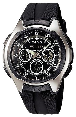 070d91c6c9 Amazon | [カシオ]CASIO 腕時計 スタンダード AQ-163W-1B1JF メンズ ...