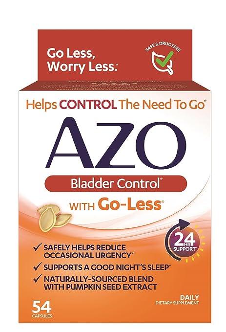 AZO Bladder Control Suplemento