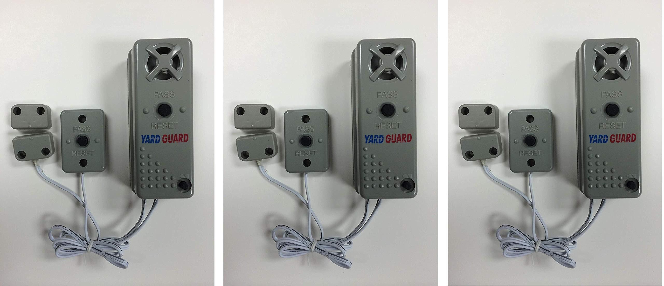 SmartPool YG03 YardGard Gate/Door/Window Alarm (Pack of 3) by SmartPool