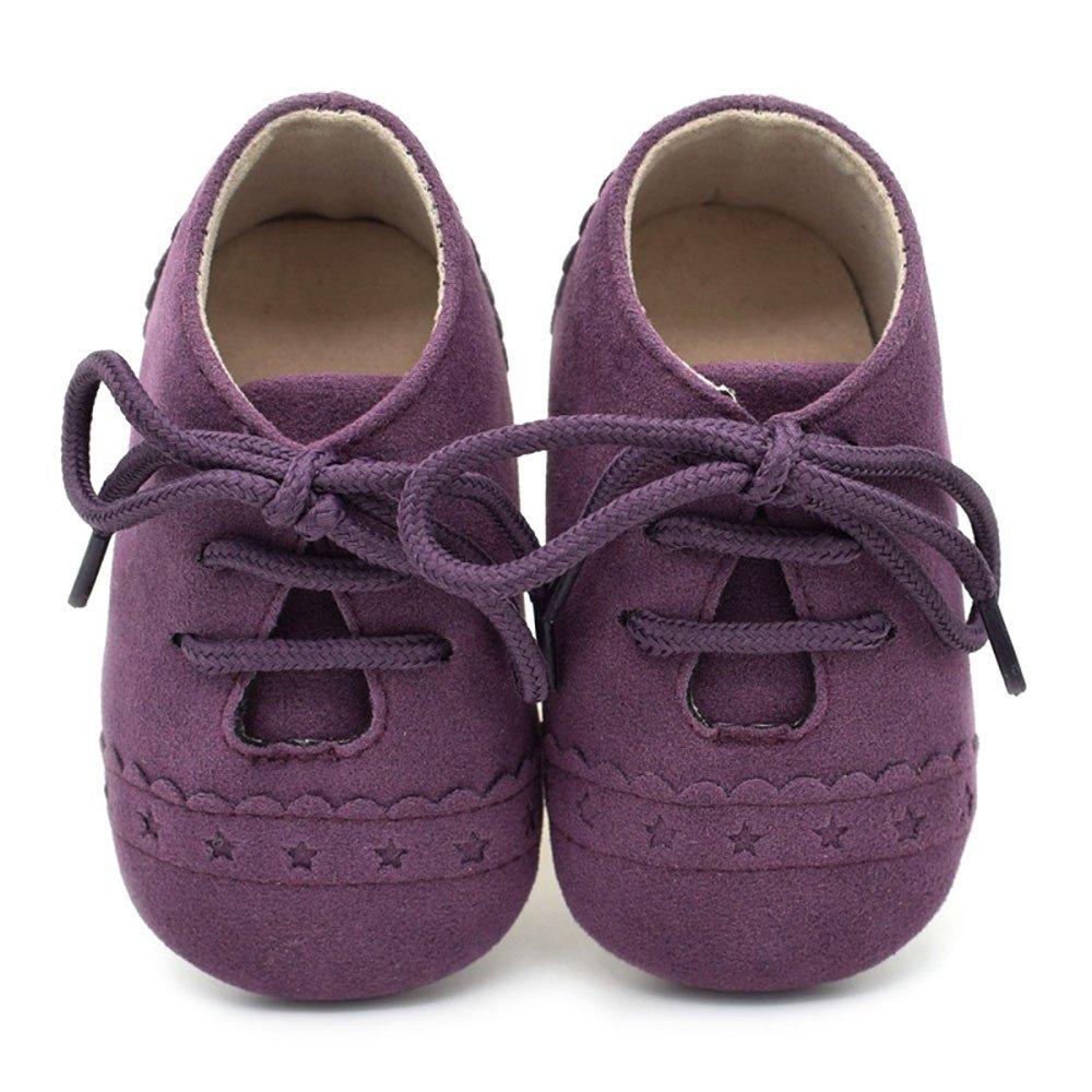 71f7781bb8a3b Chaussures Bébé Binggong Chaussures Mode tout-petit Sneaker Chaussures  Antidérapantes à Semelle Souple Chaussures à Lacets Pour Fille Garcon 0~6  ...