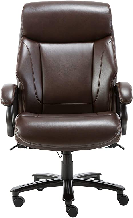 STARSPACE Bonded Leather Executive Computer Chair