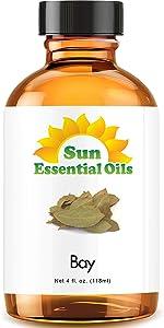 Bay Essential Oil (Huge 4oz Bottle) Bulk Bay Oil - 4 Ounce…