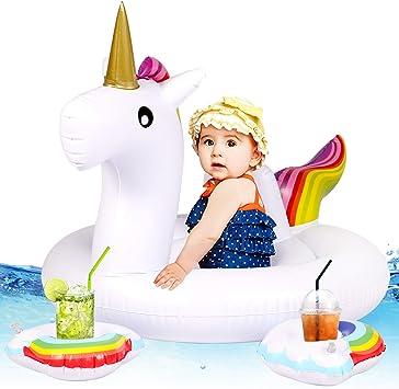 Tacobear Bebé Niño Flotador Unicornio Piscina Flotador Piscina ...