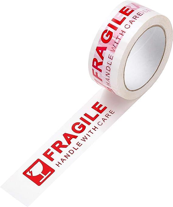 Fragile Handle with Care Rotolo di nastro adesivo 48 mm x 66 m