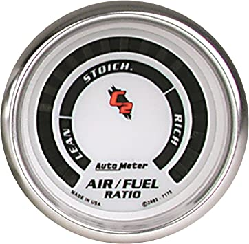 Auto Meter 4375 Ultra-Lite Electric Air Fuel Ratio Gauge