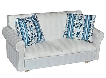 Miniatur Sofa Couch Mit 2 Kissen