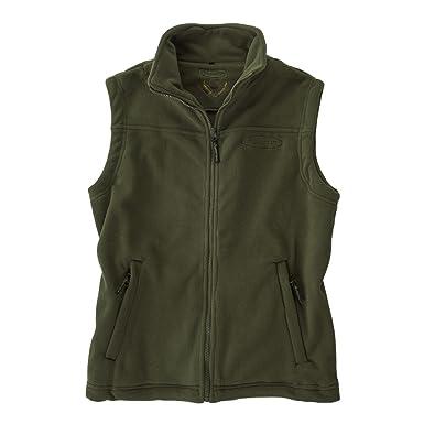 6036729b20cc1 Hubertus Fleece Vest Olive Oversize: Amazon.co.uk: Clothing