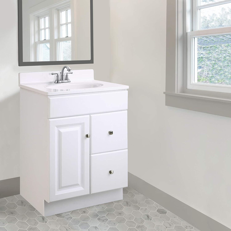 15 X 24 Design House 597203 Wyndham Unassembled Bathroom Vanity Cabinet Without Top White Bathroom Vanities Kitchen Bath Fixtures Siconsultoresperu Com