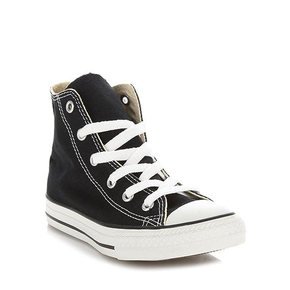5c136998252e Converse Kids Children s Black  All Star  Hi-Top Trainers  Converse ...