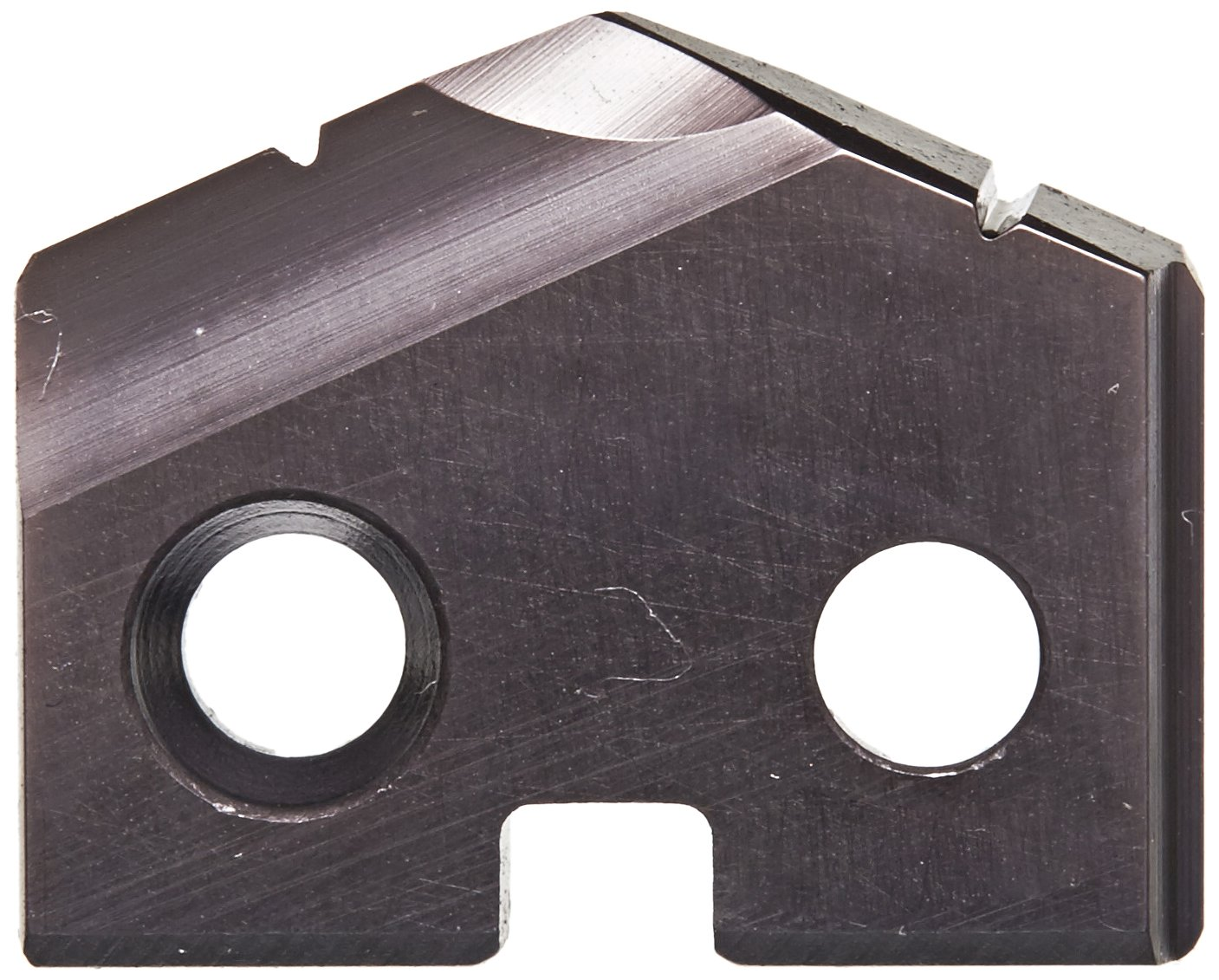 YG-1 S130 Cobalt Steel Throw-Away Drilling Insert TiAlN Finish 1//8 Thick Pack of 2 41//64 Diameter