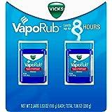 Vicks VapoRub Topical Cough Suppressant Ointment 3.53 oz (Pack of 2)