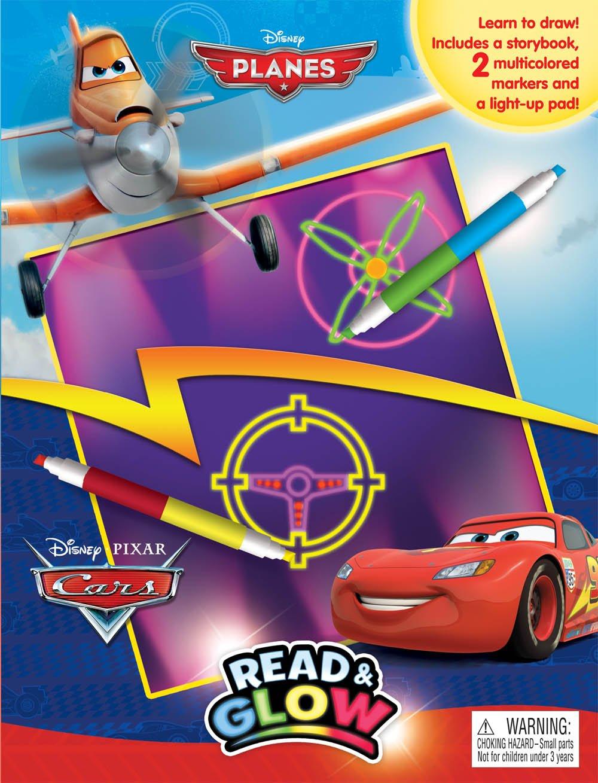 Read Online Disney Planes & Disney/Pixar Cars Read & Glow PDF