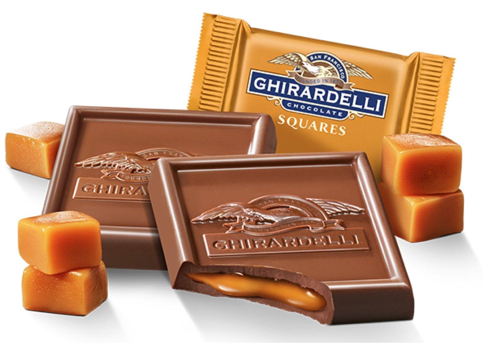 Ghirardelli Bulk Milk Chocolate Caramel Square (3 pound)