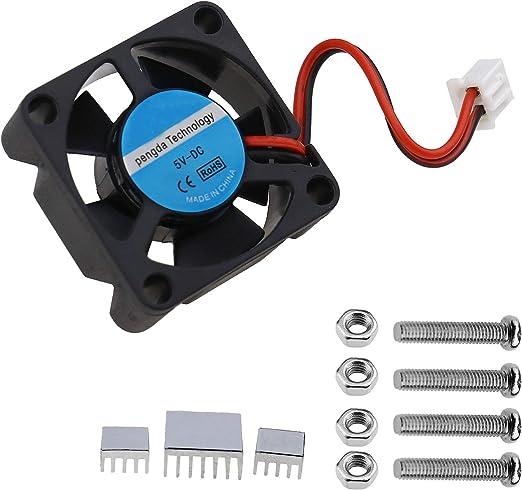 OTOTEC - Ventilador de calefacción de 5 V 0,2 A con 4 Tornillos, 3 ...