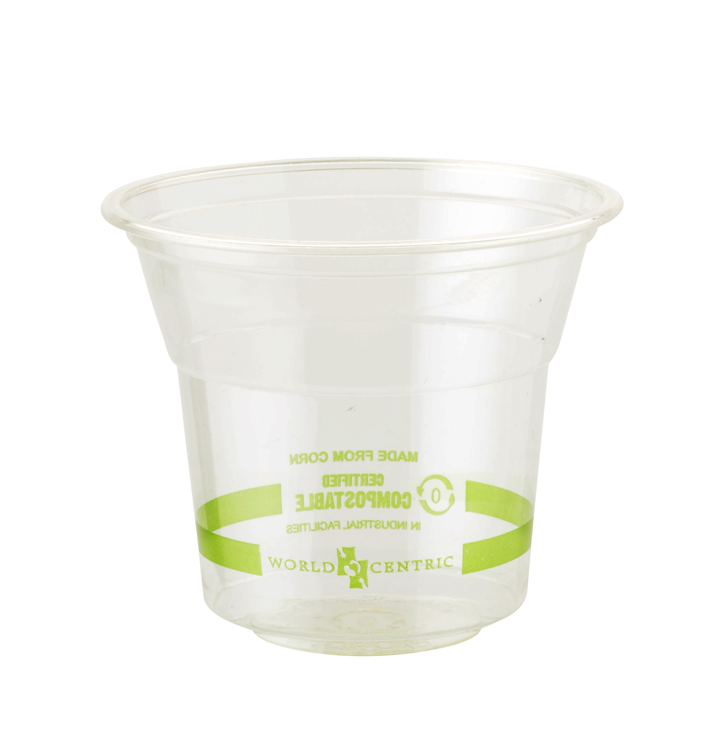 World Centric CP-CS-5 Compostable Ingeo  Cups, 5 oz., Clear (Pack of 2000)