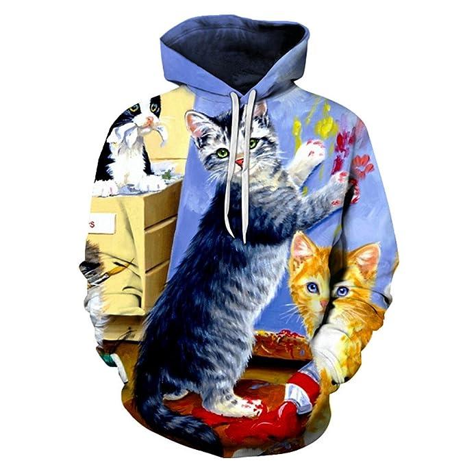3D Hoodies Hombres Mujeres Sudaderas Unisex Impreso Pullover Moda Chándales Casuales Abrigos Masculinos Hooded Boy Jackets: Amazon.es: Ropa y accesorios