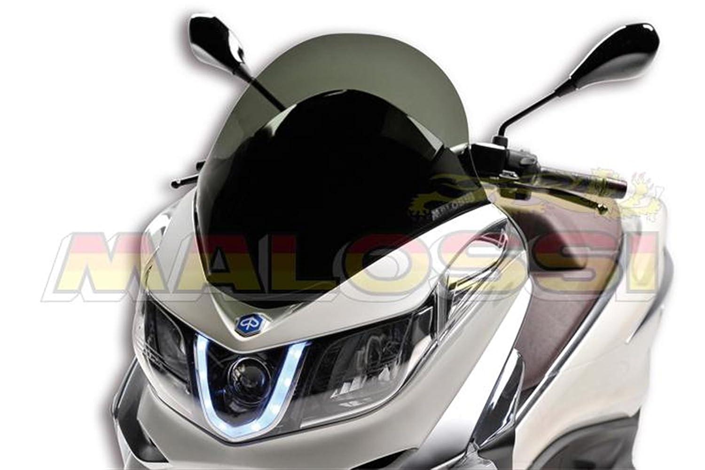Flyscreen MALOSSI MHR get/önt f/ür PIAGGIO X10 350-500ccm