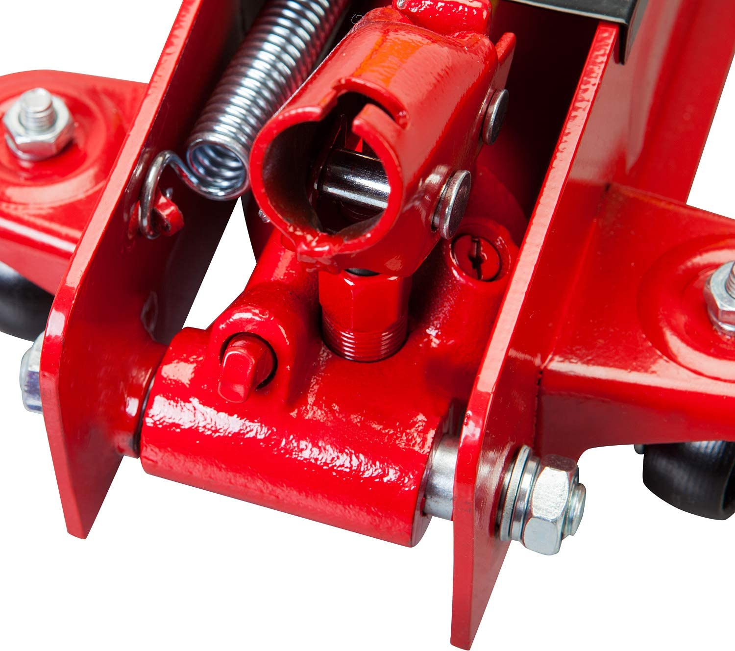 Red 5,000 lb Capacity 2.5 Ton Big Red TAM825051 Torin Hydraulic Low Profile Trolley Service//Floor Jack with Dual Piston Quick Lift Pump