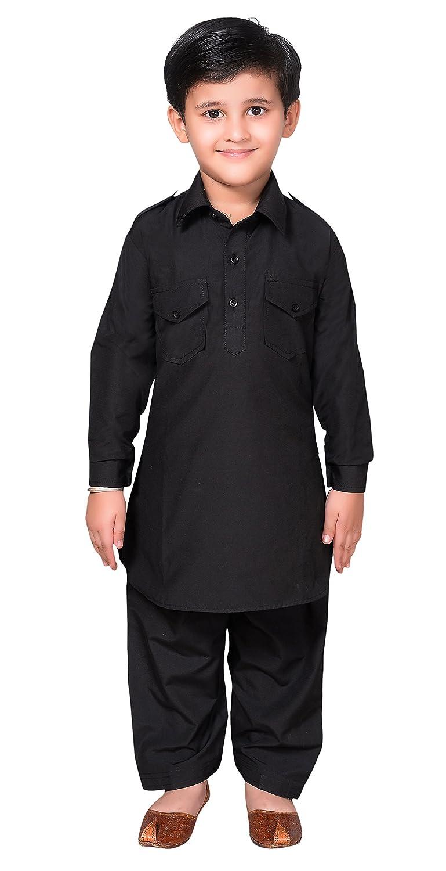 356820efa Desi Sarees Boys Pathani Kurta Shalwar Kameez Sherwani 936 Blue:  Amazon.co.uk: Clothing