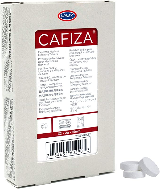 Amazon.com: Urnex Cafiza Espresso machine Cleaner tabletas ...