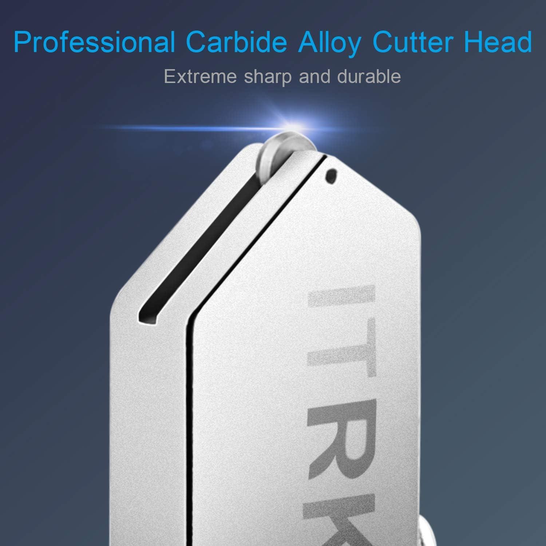 herramienta de corte de cristal punta de carburo de aceite para corte de cristal//azulejos//espejo//mosaico. Cortador de vidrio de 2 a 20 mm