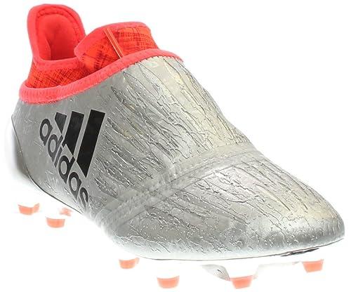 adidas X 16+ Purechaos FG J Silvmt Cblack Solred Shoes - 4.5Y 40744236c