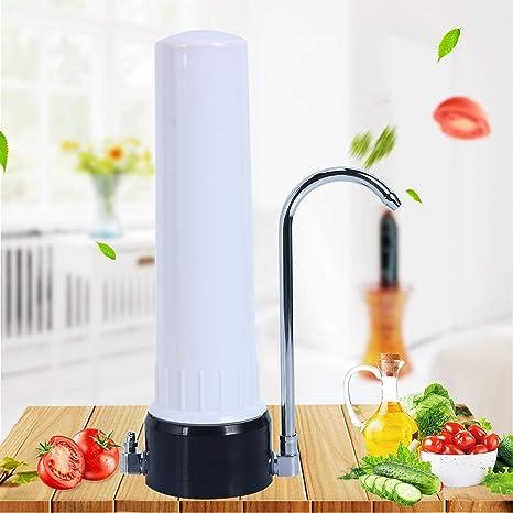 Desconocido GDAE10 - Purificador de Agua para encimera, Grifo de Cocina, Sistema purificador de Agua Potable de cerámica para el hogar (0,9 micrones de filtración) (US Stock): Amazon.es: Hogar