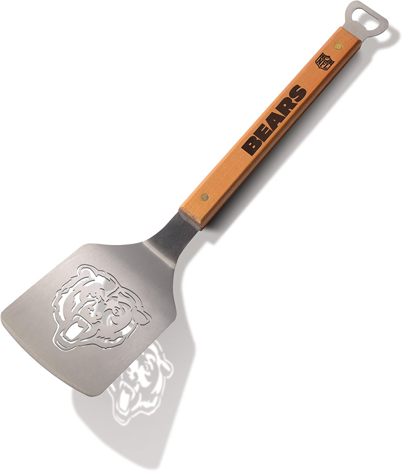 YouTheFan NFL Classic Series Sportula Stainless Steel Grilling Spatula