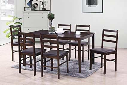 HomeTown Bolton Solidwood Six Seater Dining Set