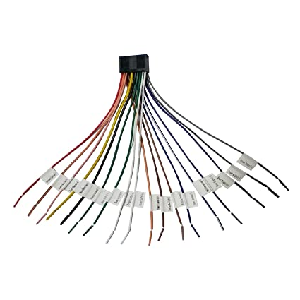ATOTO A6 Replacement Parts - Antennas, Cables,Frames,Harness, faceplate  Module, and More (A6Y Power Harness (Open/B)) only Suitable for A6Y Series
