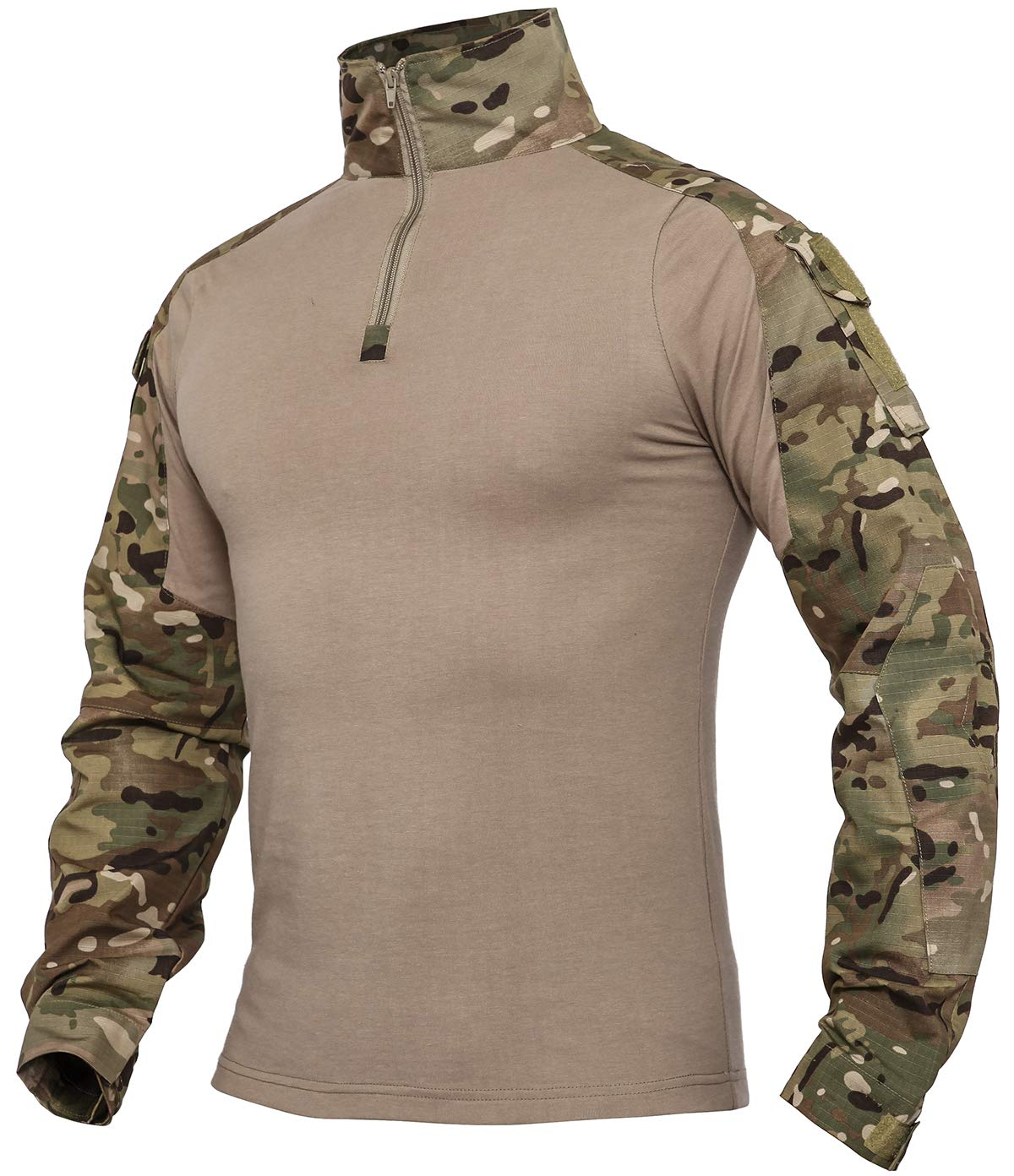 XKTTAC Tactical-Combat -Airsoft-Military-Shirt (Cp, M) by XKTTAC