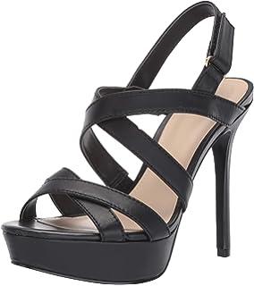 GUESS Womens Peakabo Heeled Sandal