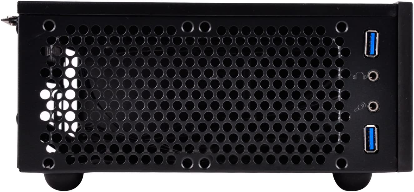 SilverStone Technology Small Form Factor Mini-ITX Computer Case with SFX Support ML09B-USA