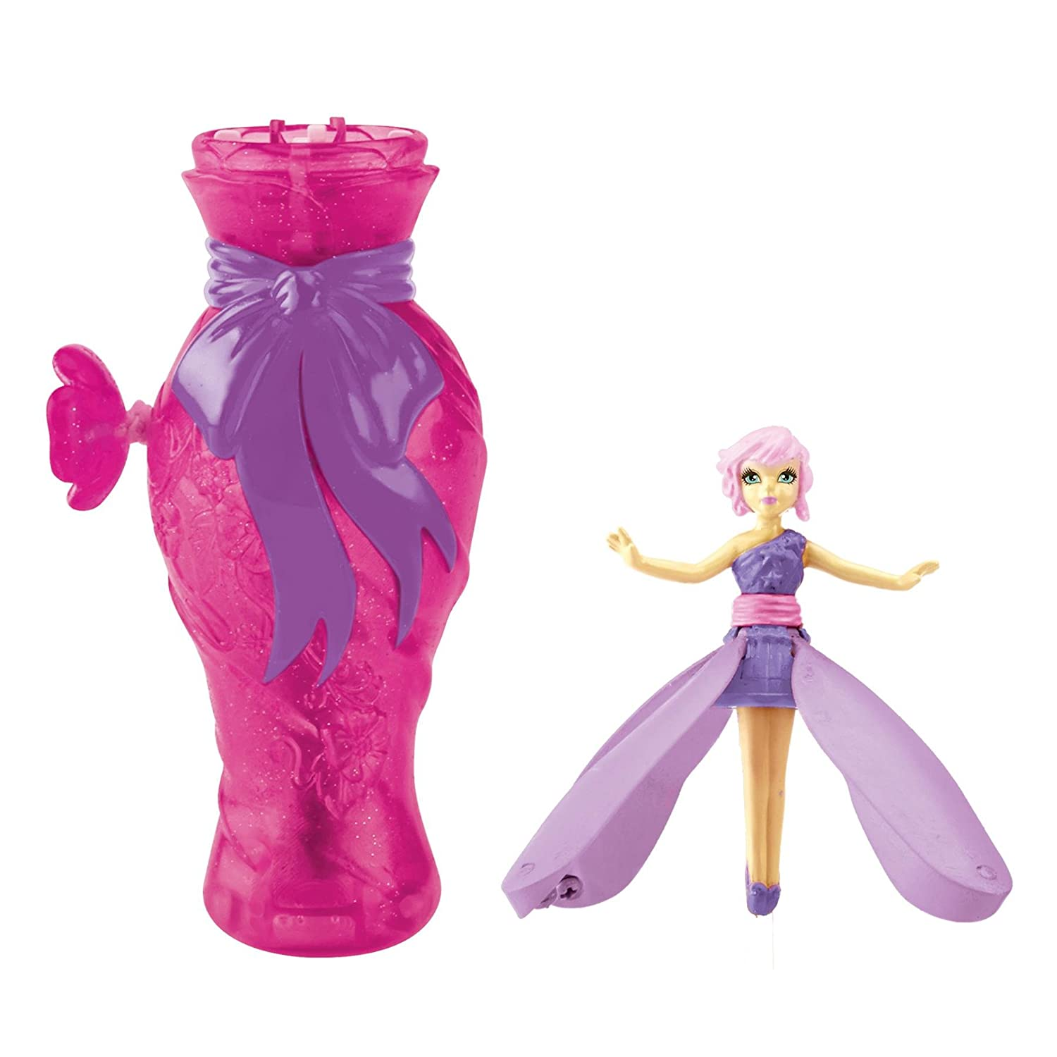 Amazon flutterbye fairies dance and fly lilac toys games mightylinksfo